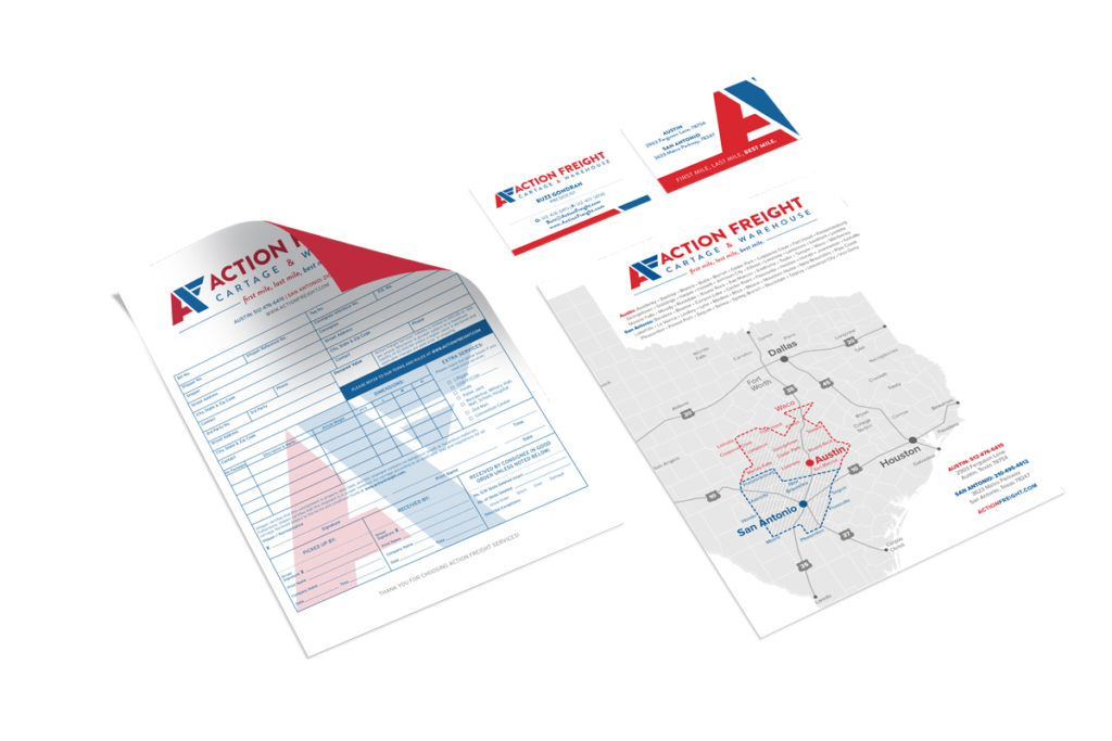 ActionFreightBusinessCards