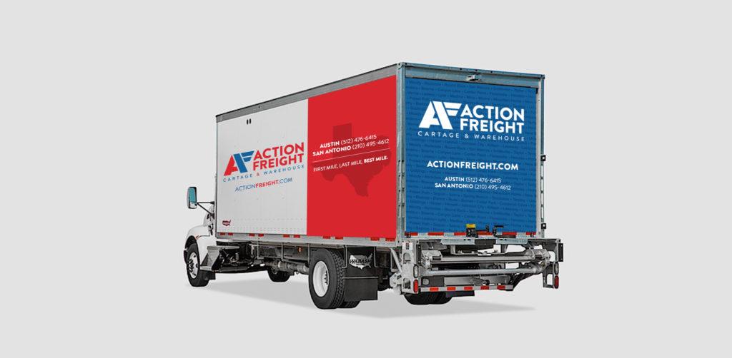 Action Freight Truck Design