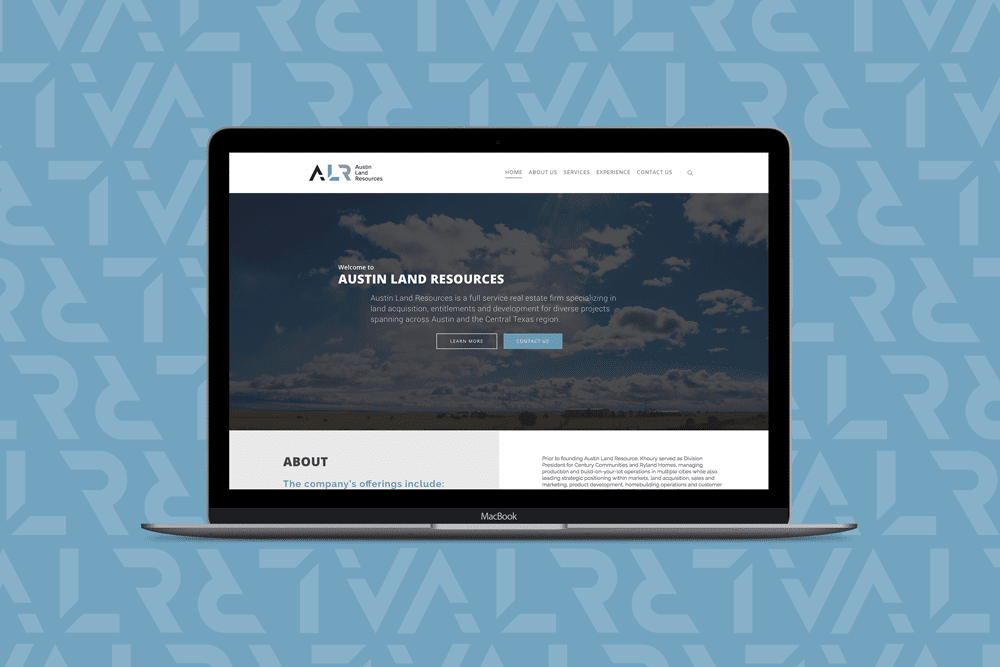 Austin Land Resources, Web Design