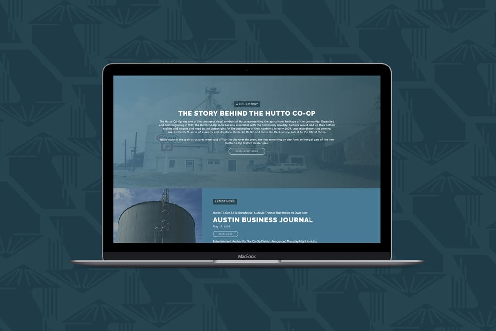 Hutto Co-Op District, Web Design